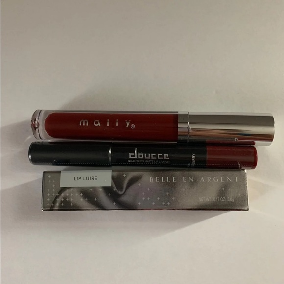 Other - Mally doucce belle en argent lip bundle NEW